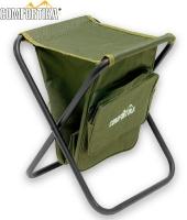 Стул складной без спинки с сумкой H-2027