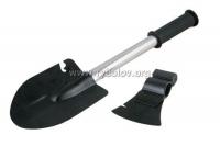 Набор лопата, топор, пила, нож