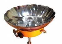 Газовая плита Tulpan-S TM-400 (с ветрозащитой)