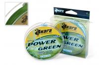 Леска плетеная Akara Power Super Soft Green