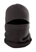Шапка-маска TR 10610 флис черная 1 отверстие