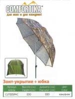 Зонт-укрытие+юбка CUT22SPAC