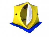 Палатка зимняя Стэк Куб 3 Трехслойная Дышащая