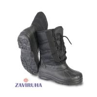 Сапоги зимние комбинированные Zaviruha Орион черные