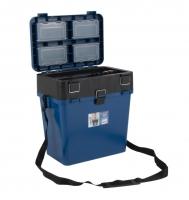 Ящик для зимней рыбалки Helios M синий