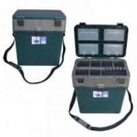 Ящик для зимней рыбалки Helios M зеленый